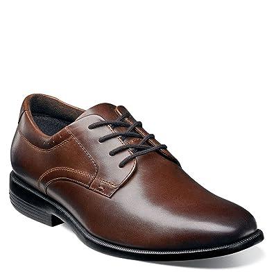 Nunn Bush Men's Devine Plain Toe Oxford Brown 7 ...