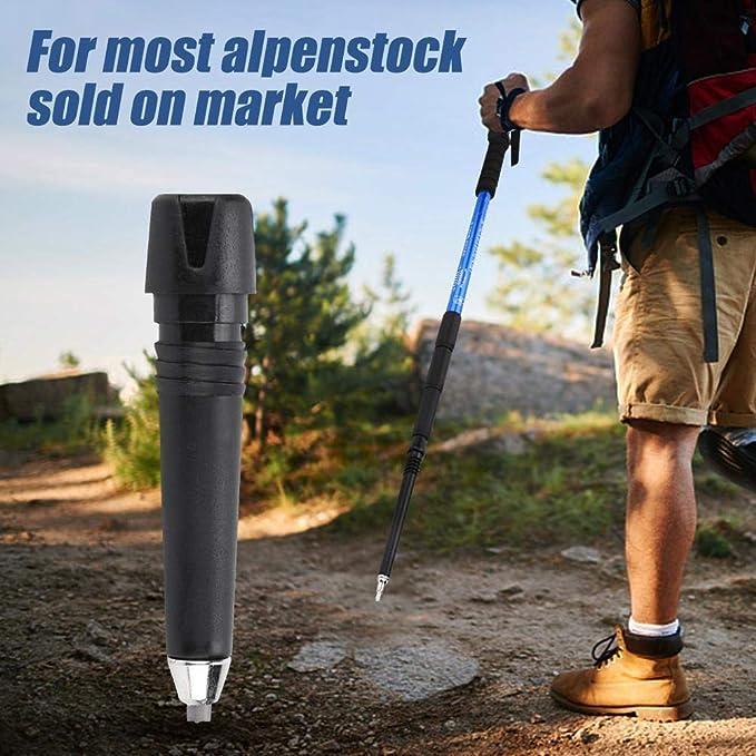 4 ST/ÜCKE Alpenstock Tip Alpenstock Walking Rute Tip f/ür Wanderst/öcke Trekkingst/öcke Alpenstock Ersatzkappen