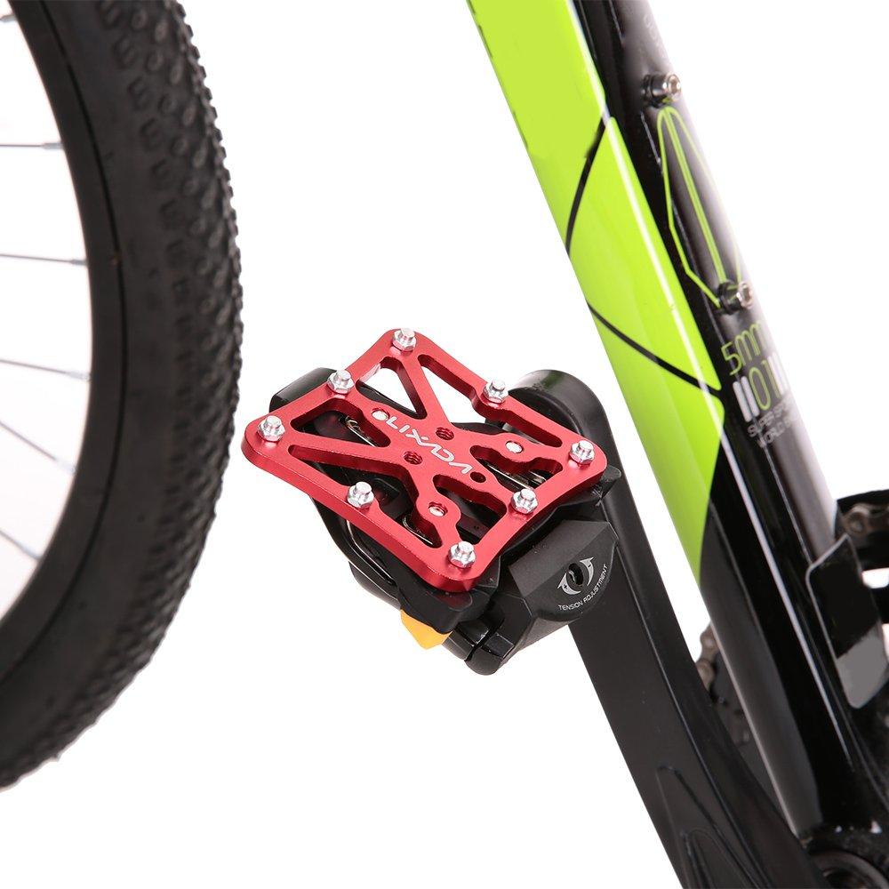 Lixada Plataforma de Pedal Universal Clipless Adaptador para Shimano