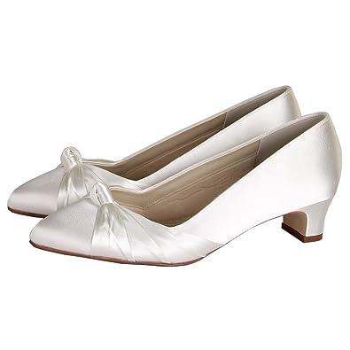 2235f1cb776 Rainbow Club Linda Extra Wide Ivory Wedding Shoes Size 7  Amazon.co.uk   Shoes   Bags