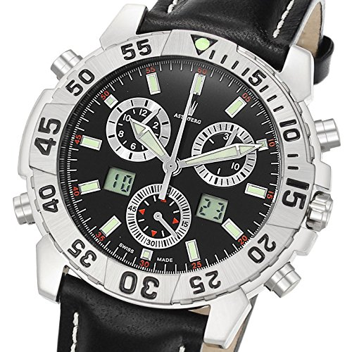 Astboerg Watch Germany Alarm-Chronograph Silverstone AT720S