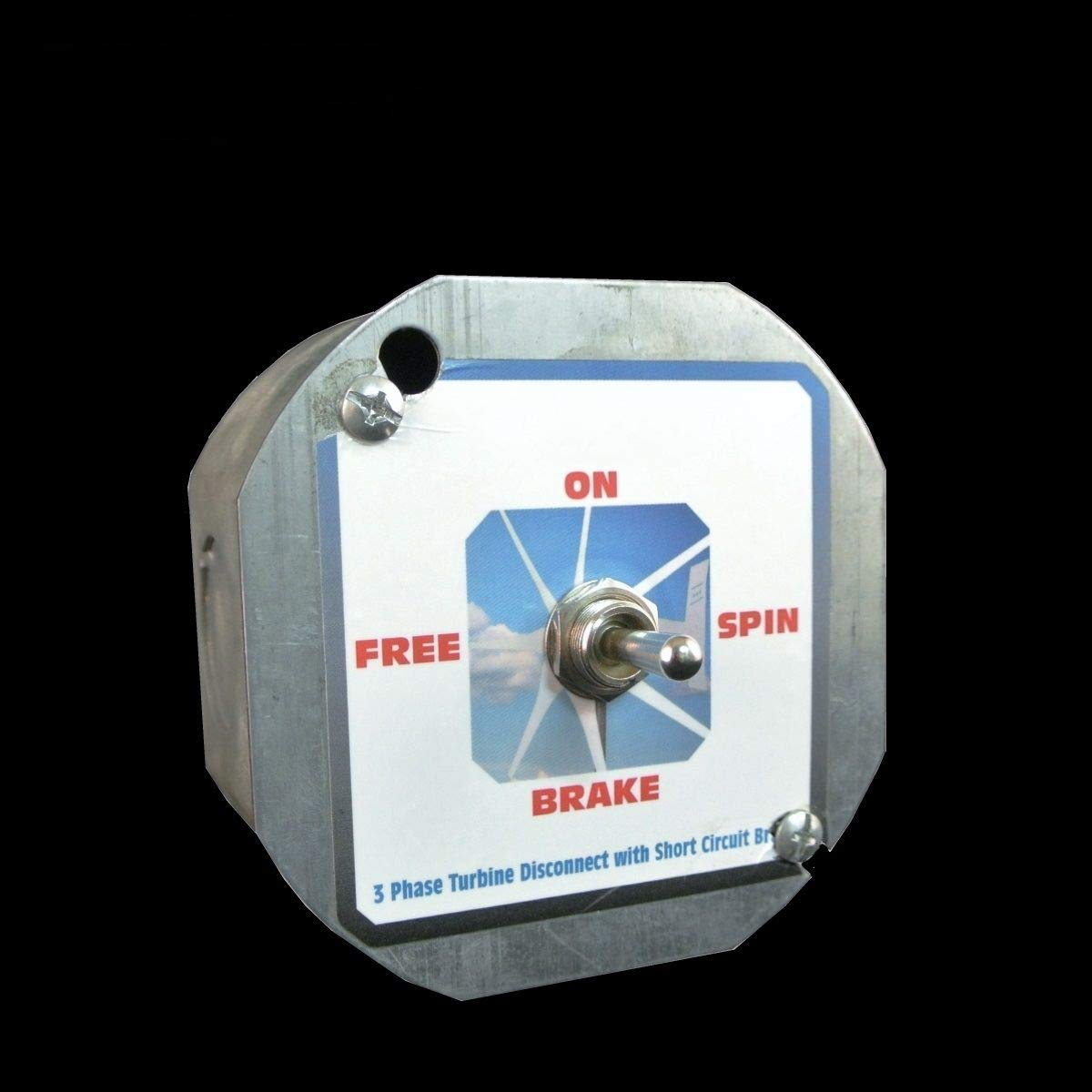 3 Phase 50 Amp AC or DC Brake Switch for Wind Turbine Generators