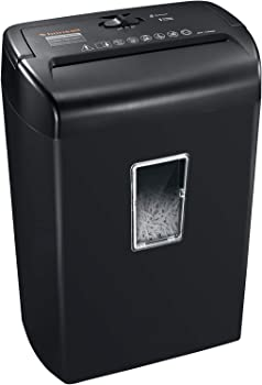 Bonsaii 10-Sheet Cross-Cut Paper Shredder, Credit Card Shredders