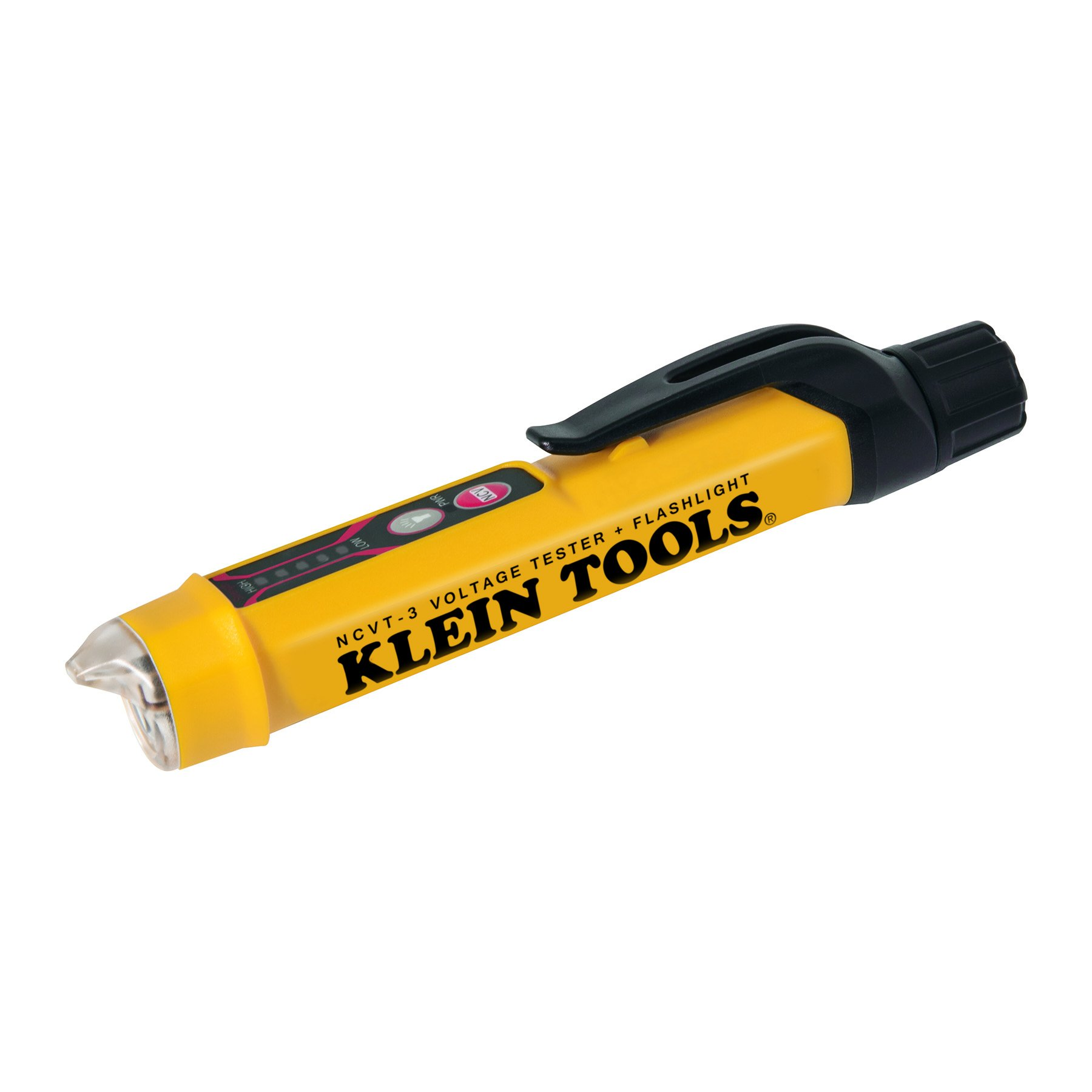 Kleinn Tool NCVT-3 Non-Contact Voltage Tester with Flashlight