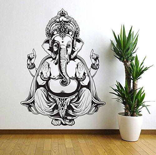 Sticker Bedroom Elephant Mandala Ganapati