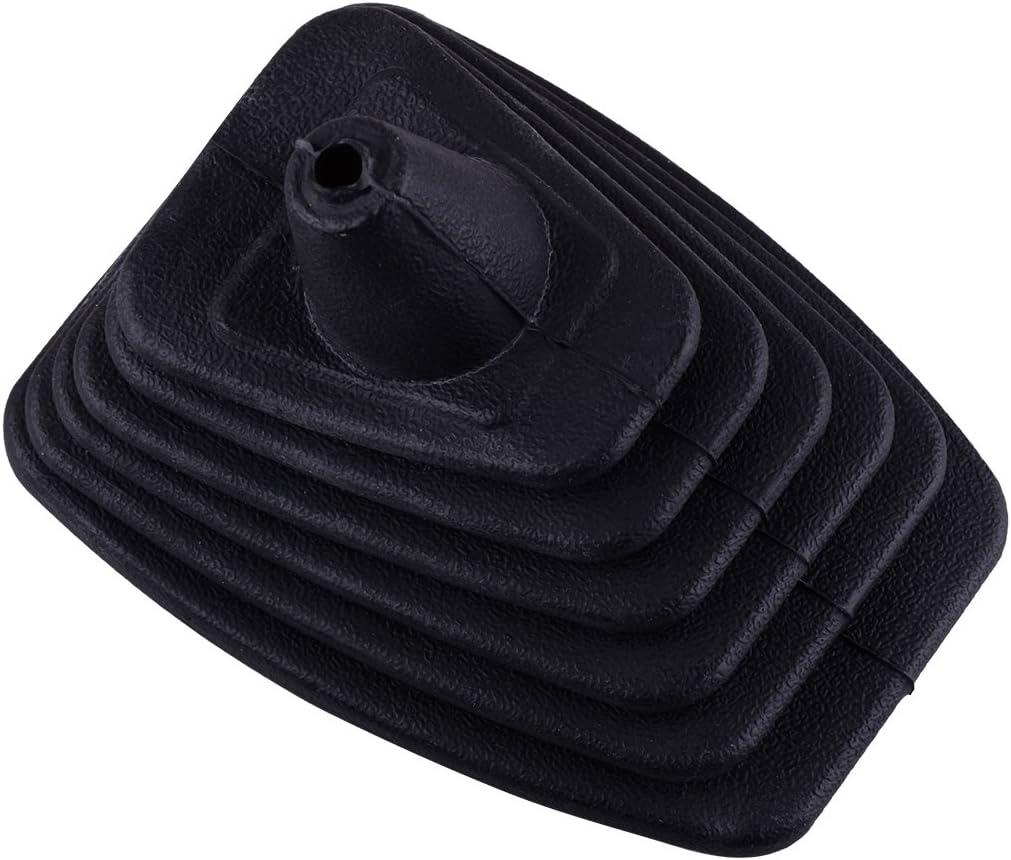 beler Black Rubber Gear Shift Shifter Gaiter Boot Cover