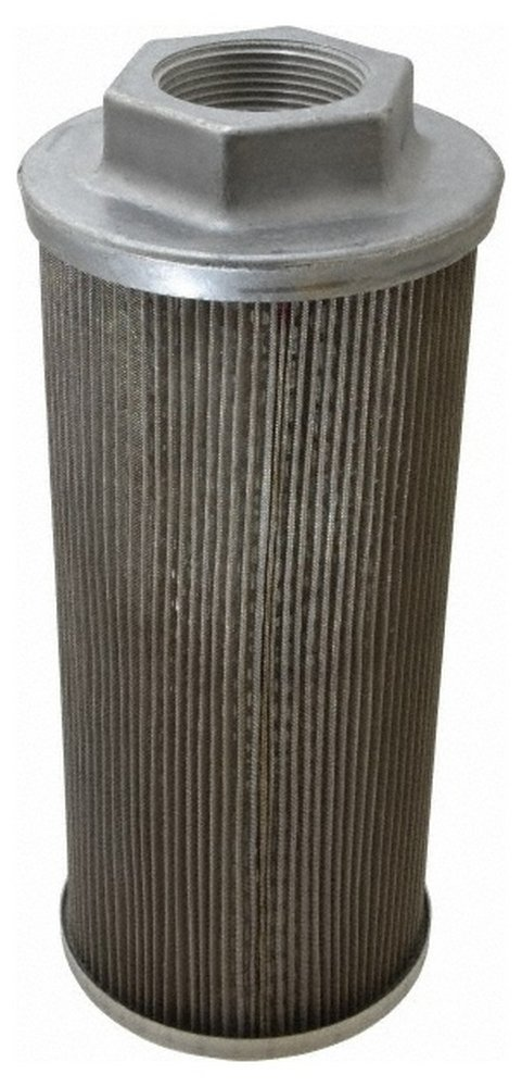 60 Mesh, 189 LPM, 50 GPM, 4.3'' Diam, Female Suction Strainer without Bypass, 1-1/2 Port NPT, 9.8'' Long by Flow Ezy Filters