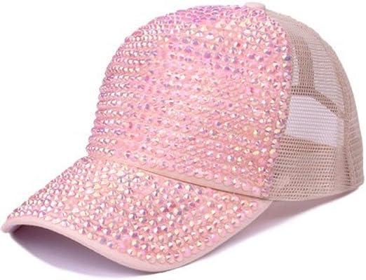 kyprx Sombrero de Sombra ala Ancha Sombrero para el Sol Rhinestone ...