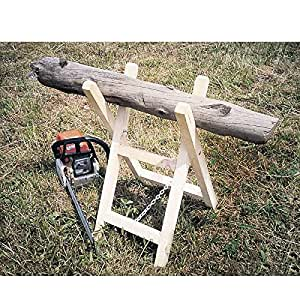 Provence Outillage 2431 - 0 Caballete plegable de madera del registro