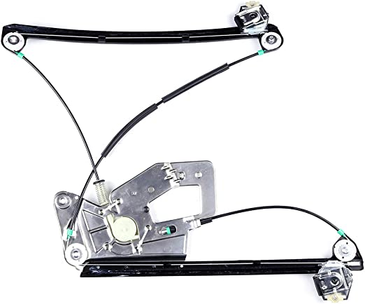 Power Window Regulator Front Right Passenger Side without Motor fits for 2003-01 BMW 525i 530i 2000-97 528i 2003-97 540i 2003-00 M5 51338252394 740-479