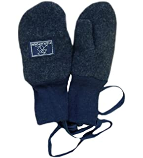 7d21bf7a5c2 PICKAPOOH Mittens 100% MERINO wool Baby Children fleece gloves arm warmer  winter CORD