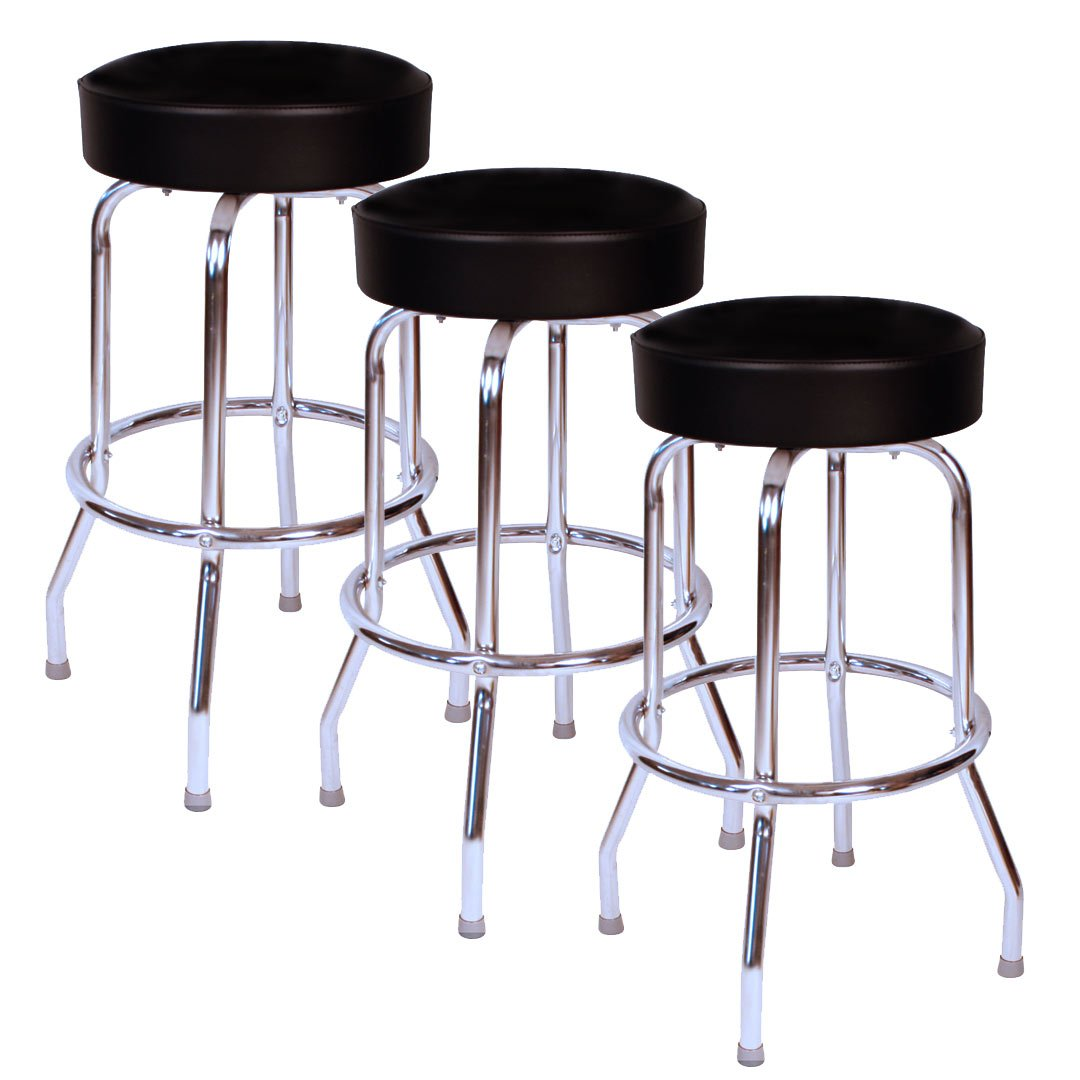 High quality swivel bar stools commercial grade double for High end bar stools swivel
