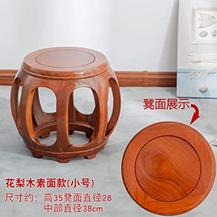 Excellent Amazon Com Chinese Style Redwood Stool Footstool Chair Creativecarmelina Interior Chair Design Creativecarmelinacom