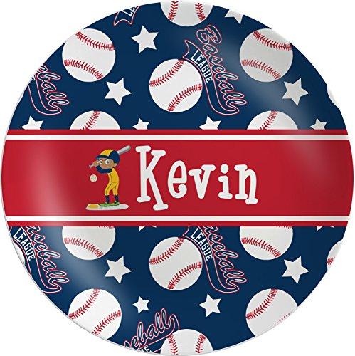 Baseball Melamine Plate (Personalized)