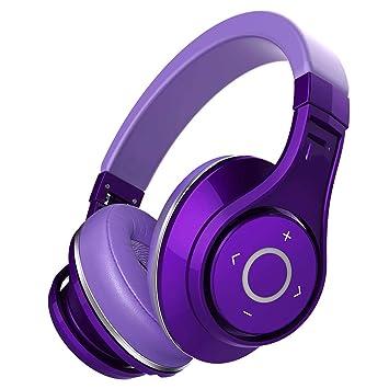 Auriculares Inalámbricos Bluetooth, Auriculares Hi-Fi, Auriculares Estéreo, Auriculares Inalámbricos Plegables,