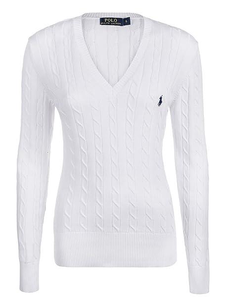 taglia 40 5440c 480c1 Ralph Lauren - Maglione - Donna bianco XL: Amazon.it ...