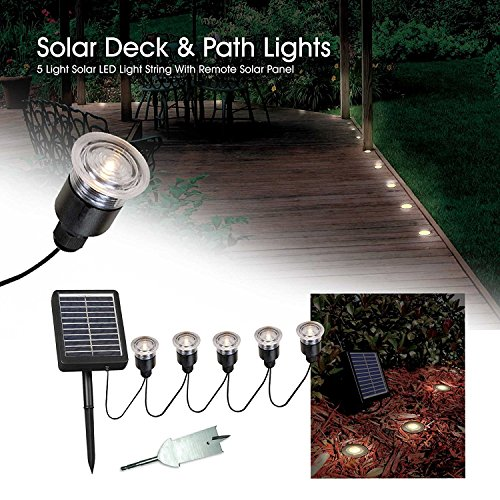 Kenroy Home Solar Deck Lights in US - 4