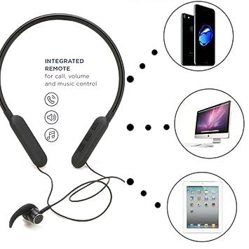 Evraz Wireless Bluetooth Neckband Headphones Earphones Amazon In Electronics