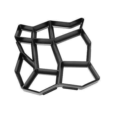GEZICHTA 43,5 x 43,5 cm molde manual de plástico para hacer manicura