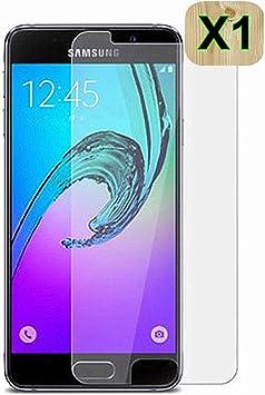 Haikingmoon Cristal Templado Samsung A3 2017,Fácil de Instalar ...