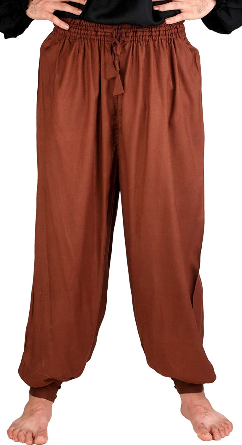 Medieval Pirate Poet's Chocolate Harem Pants