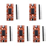 KOOBOOK 5Pcs A3967 EasyDriver Shield Stepping Stepper Motor Driver For Arduino Support 4/6/8 Wires Stepper