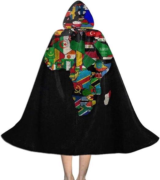 EWTHD - Capa con Capucha para Disfraz de Halloween con diseño de ...