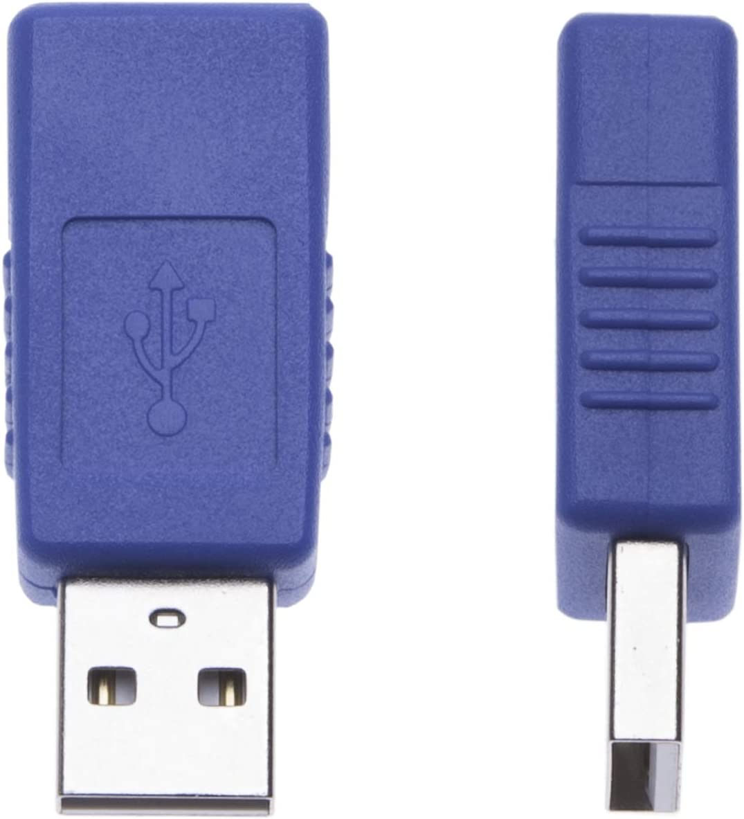 Keple 2 Pezzi Adattatore Maschio-Femmina Da USB 2.0 USB A Plug Gender Changer