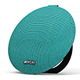 Bluetooth Speakers 4.2,Portable Wireless Speaker with 15W Super Stereo Sound,Strong Bass,Waterproof IPX7, 2500mAh Battery,MOKCAO STYLE Perfect for iPhone/Android devices,Colorful Christmas Gift-Green