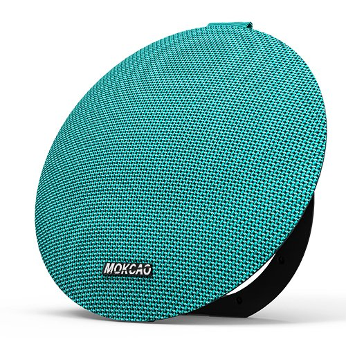 MOKCAO STYLE Bluetooth Speakers 4.2,Portable Wireless Speaker with 15W Super Stereo Sound,Strong Bass,Waterproof IPX7, 2500mAh Battery, Perfect for iPhone/Android devices-Green