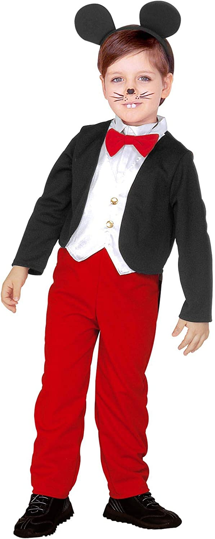 WIDMANN 43879 - Disfraz de Mickey Mouse para niños, multicolor ...