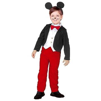 WIDMANN 43879 - Disfraz de Mickey Mouse para niños ...