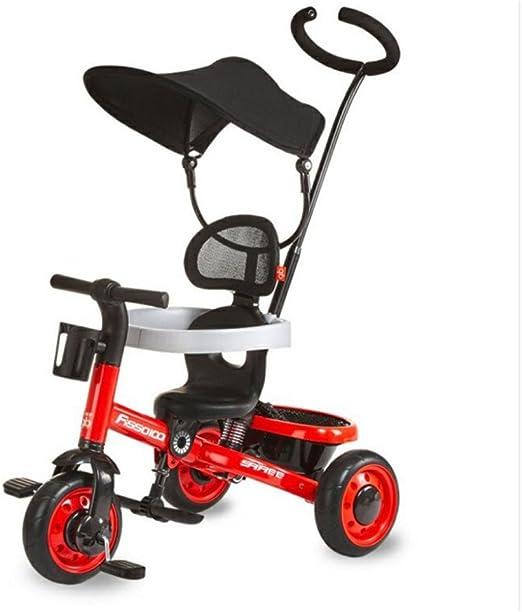 QXMEI Bicicleta De Triciclo para Niños de 1 A 3 Años Carritos De ...