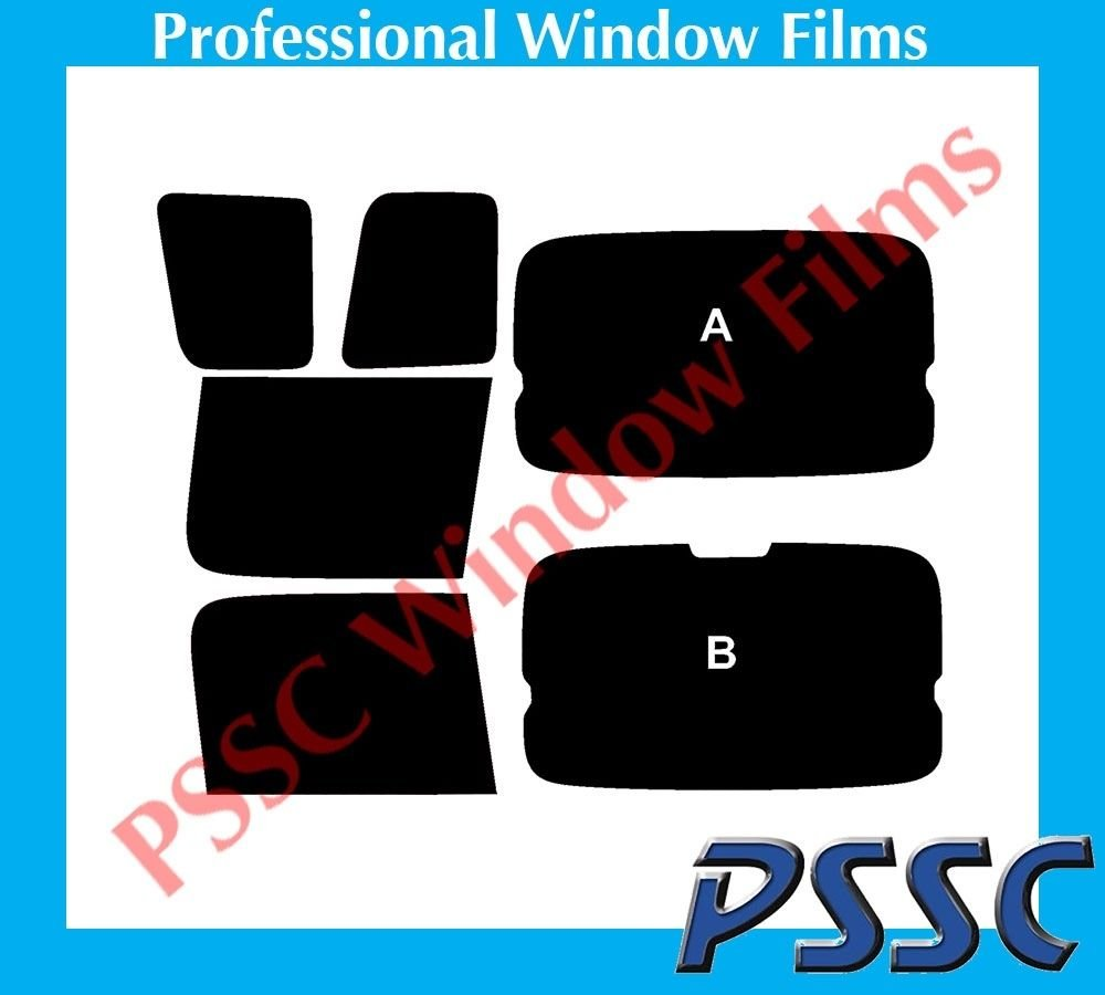 PSSC Pre Cut Rear Car Window Films for Toyota Yaris Verso 1999-2007 20/% Dark Tint