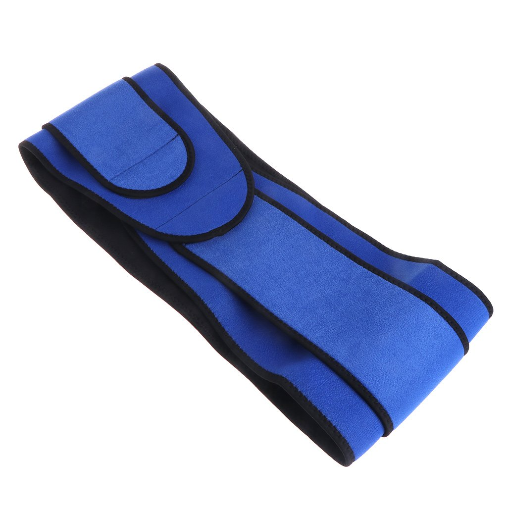 ULKEME High Elastic Waterproof Belt Ajustable Waist Support Brace Fitness Gym Lumbar
