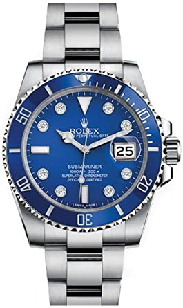 amazon com never worn rolex submariner mens watch 116619lb rh amazon com Rolex GMT Rolex Yacht-Master