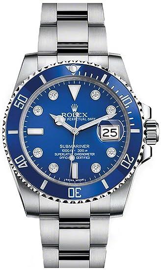 Nunca Worn Rolex Submariner 116619lb – Reloj de hombre