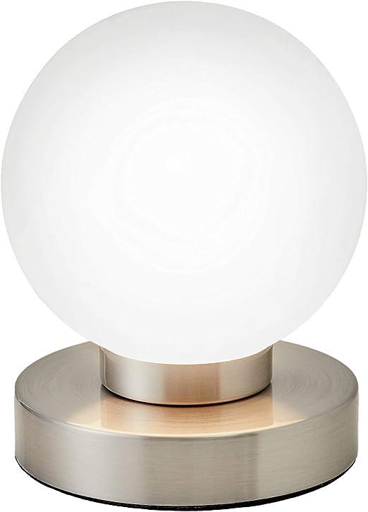 Wsxxn Lampe De Chevet En Forme De Boule Touch Switch Table