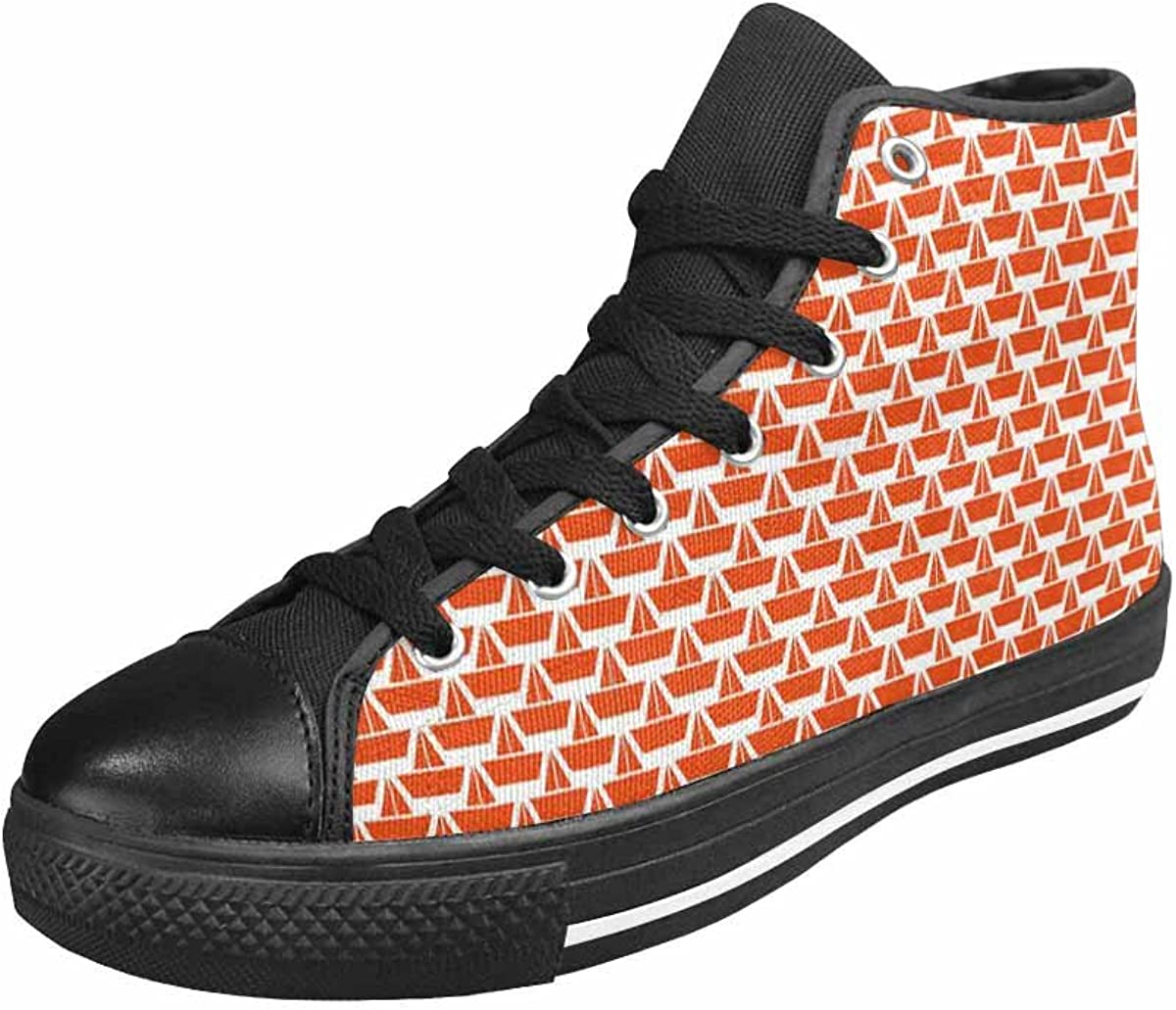 MingDe Sports High Top Canvas Shoes Unisex Canvas Sneaker
