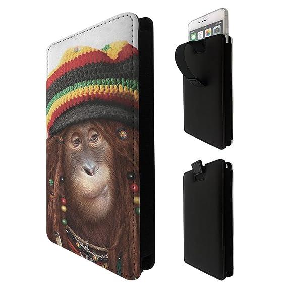 000064 - Rasta Monkey Jamaican Style LG k3 k4 k8 k19,Q6 G6 V20 V30