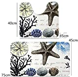 Homespun Starfish Seashells Colorful 45 x 75 Cm - Best Reviews Guide