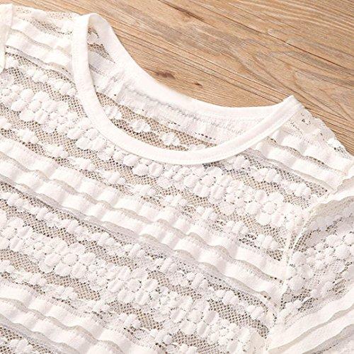 LHWY Familia Ropa Mujer Corto Manga Camiseta Bff Cordón Borlas Blusa Tops Chaleco Equipo MOM