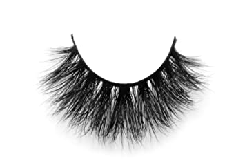 160ce3f4f81 Image Unavailable. Image not available for. Color: Alisha Lash 100% Handmade  Siberian Mink Fur 3D ...