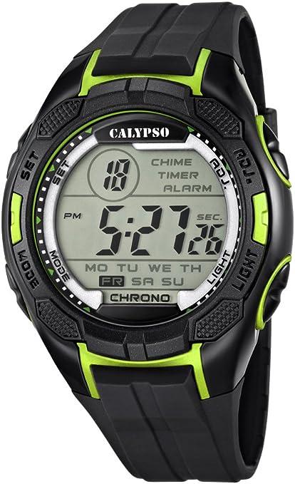 Calypso Watches Reloj Digital para Hombre de Cuarzo con Correa en Plástico K5627_4
