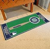 Fanmats Home Indoor sports Team Logo Seattle Mariners Baseball Runner Mat