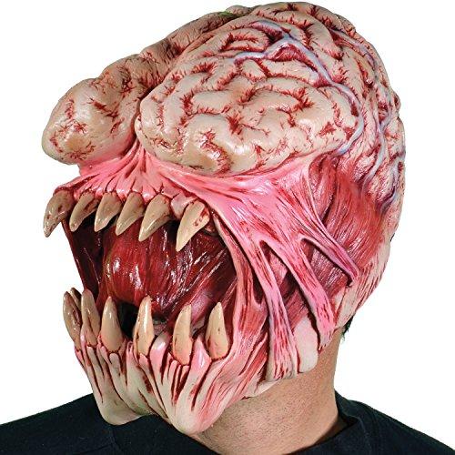 Zagone Brain Eater Mask, Monster, Creature Exposed - Creature Mask