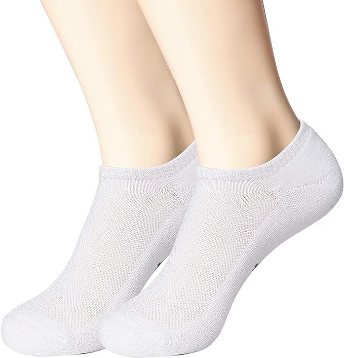 für Damen und Herren Bambus Sneaker-Socken 3er Pack