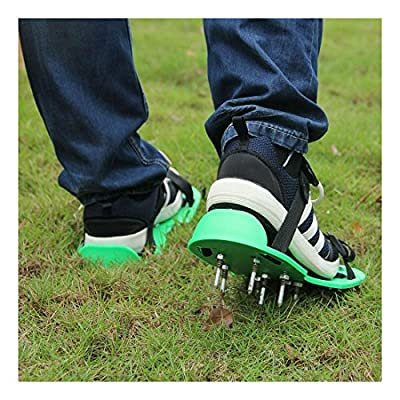 Garden Lawn Aerator Spike Spiked Shoes For Garden Lawn Care