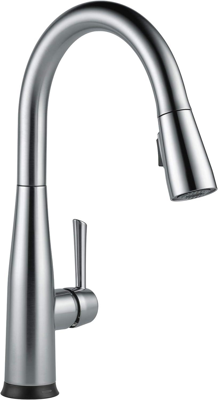 Best touch kitchen faucets: Delta Faucet Essa Arctic Stainless 9113T-AR-DST