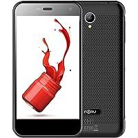 "NOMU S20 Smartphone móvil libre 4G de 5.0"" IP68 Impermeable Dustproof Shockproof Rugged Outdoor Drfy (cámara,13.0MP,1280x720 ,Android 6.0, Pantalla 5.0"", Quad Core, 32GB ROM,Dual SIM, 3000mAh)gris"